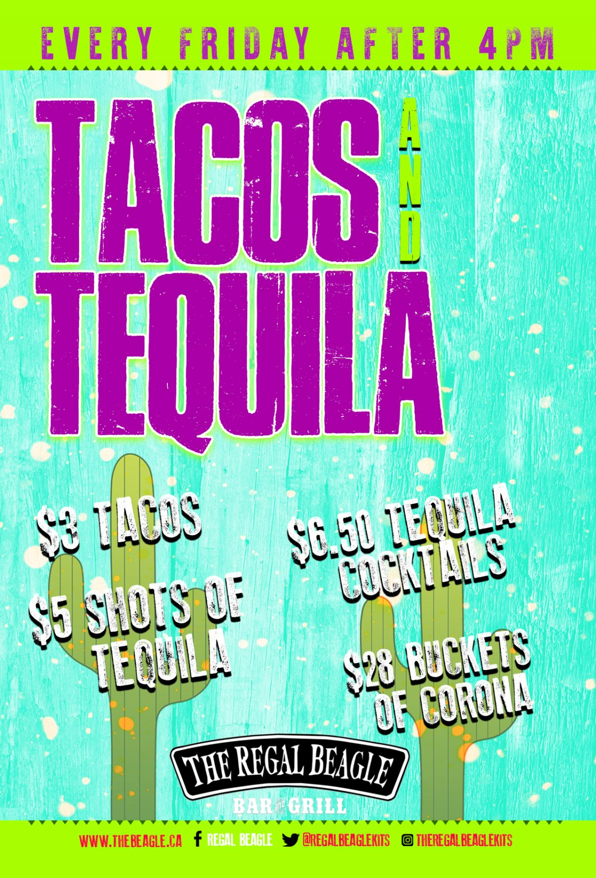 Tacos and Tequila Fridays
