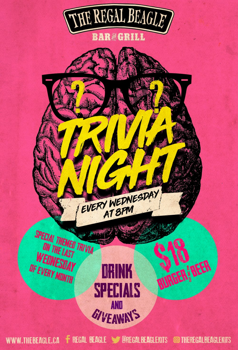 Trivia Night - every Wednesday